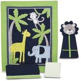 Carter's Safari Sky 4-Piece Crib Bedding Set, 4-Pack