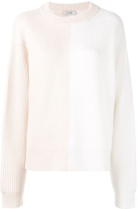 Vaara Eliza colour-block relaxed-fit jumper
