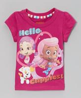 Children's Apparel Network Fuchsia 'Hello Guppies' Tee - Toddler