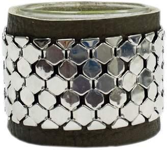 Joolz Leather-Silver Bracelet