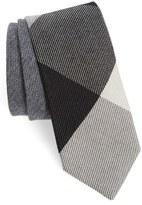 Burberry Men's Check Cashmere & Silk Tie