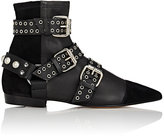 Isabel Marant Women's Rolling Suede & Leather Ankle Boots-BLACK