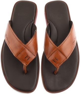 Oliver Sweeney Sweeney Saltash Flip Flop Sandals Brown