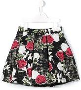 Miss Blumarine floral print skirt