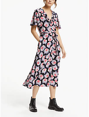 12bb0fb273d9 Somerset by Alice Temperley Tie Waist Button Dress, Black Base