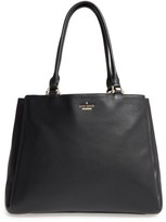 Kate Spade Lombard Street Neve Leather Tote - Black