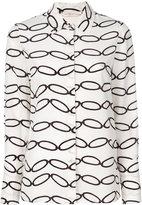 Tory Burch printed shirt - women - Silk - 6