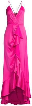 Jay Godfrey Elsie Ruffle Front Gown