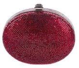 Judith Leiber Crystal-Embellished Oval Minaudière
