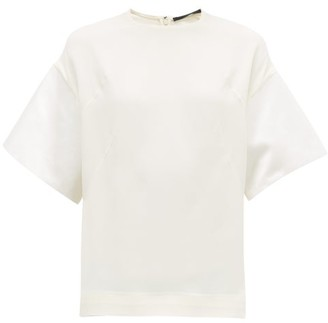 Haider Ackermann Evening Box-fit Top - Womens - Ivory