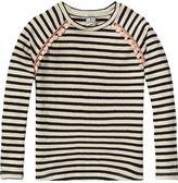 Scotch & Soda Linen Mix T-Shirt   Long Sleeve