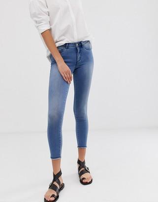 Only Royal regular skinny jeans-Blue