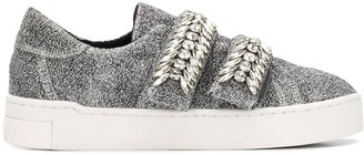 SUECOMMA BONNIE Jewel Detailed Sneakers