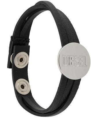 Diesel Engraved Logo Bracelet