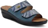 Spring Step Flexus By Adjustable Leather Slides- Kina