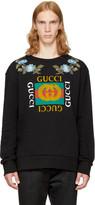Gucci Black loved Logo Sweatshirt