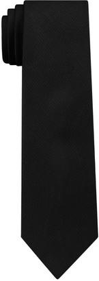 Van Heusen Men's Solid Skinny Tie with Tie Bar