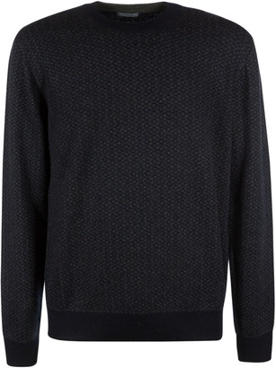 Malo Ribbed Knit Sweater