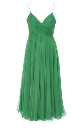 Alexis Sarrana Silk Slip Dress