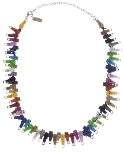 Marc by Marc Jacobs Marc Jacobs Multicolor Zipper Necklace