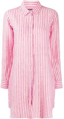 MC2 Saint Barth Loraine striped-print shirt