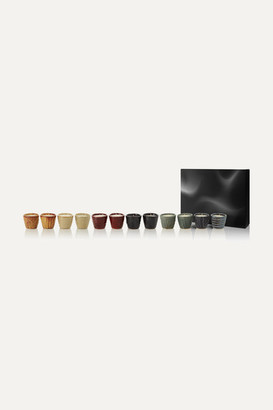 Tom Dixon The Collector Set Of 12 Scented Candles, 12 X 75g - Colorless