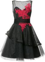 Nha Khanh layered flared dress