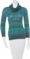 M Missoni Wool Cowl Turtleneck Sweater