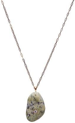 Cvc Stones 18kt yellow gold diamond Jackson necklace