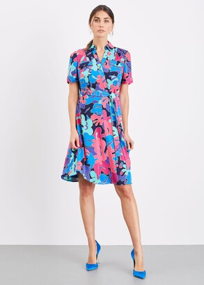 Phase Eight Kelis Abstract Print Dress