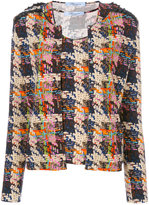 Blumarine check print twin-set style shirt - women - Spandex/Elastane/Viscose - 42