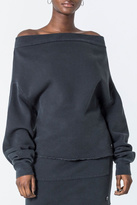 Cheap Monday Off The Shoulder Sweatshirt