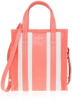 Balenciaga Striped Bazar Shopper