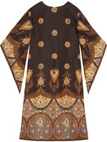 Gucci Canvas kaftan with paisley print