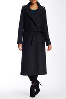Soia & Kyo Wool Blend Double Breasted Relaxed Trench
