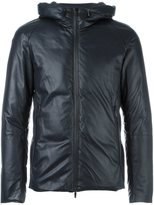 Emporio Armani two-way zip hooded jacket