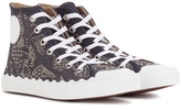 Chloé Embellished High-top Sneakers