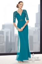 Alyce Paris Mother Of The Bride - 29711 Evening Dress In Teal