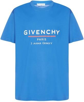 Givenchy Logo Cotton Oversized T-shirt
