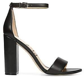 Sam Edelman Women's Yaro Ankle-Strap Leather Sandals