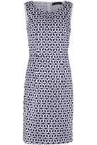 Sugarhill Boutique Geo Stamp Pleated Shift Dress