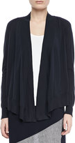Isda & Co Open-Front Cotton Cardigan