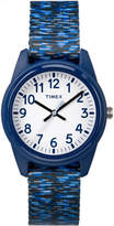 Timex Boys Blue Strap Watch-Tw7c120009j