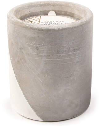 Paddywax Tobacco + Patchouli Large Concrete Candle, 12 oz./340g