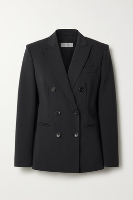 Max Mara Nativa Double-breasted Wool-blend Blazer - Navy