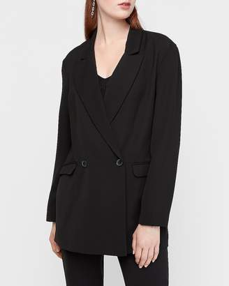 Express Oversized Double Breasted Blazer