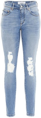 Givenchy Distressed Skinny Jeans
