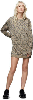 True Religion ALLOVER PRINT SWEATSHIRT DRESS