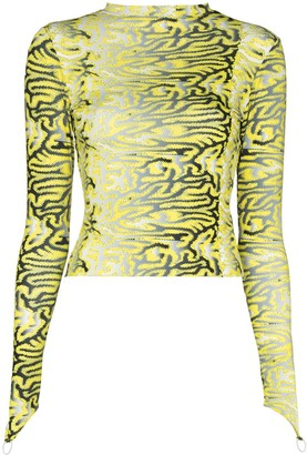 MAISIE WILEN Graphic-Print Top