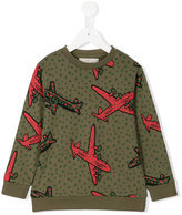 Stella McCartney plane print sweatshirt